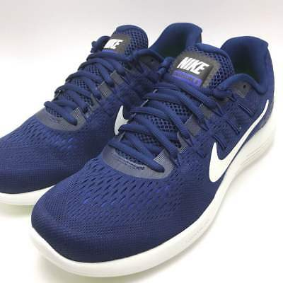 48203618700ae Nike Men s Lunarglide 8 Running Shoes Binary Blue Summit White-Black 843725- 404