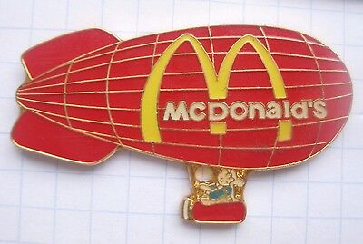 M / TIM & STRUPPI / HERGE / BALLON  .................Mc DONALD`s -Pin (137c)