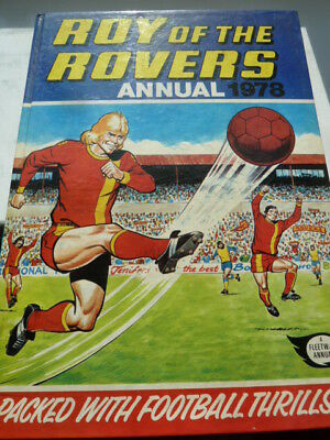 Roy of the Rovers Annual 1978
