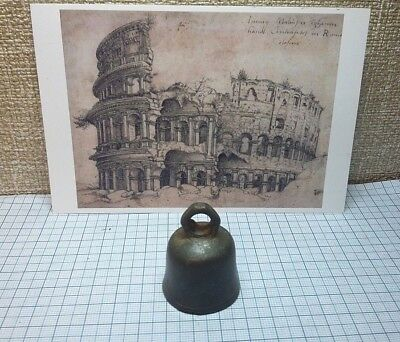 AMAZING Ancient ROMAN PERIOD TIN BRONZE  BILON BELL very good condition ! #208