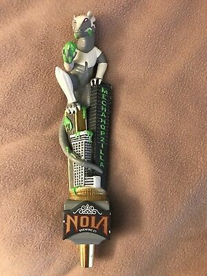 Out lawed , New in box Mechahopzilla Nola Brewing Company Beer Tap  Handle