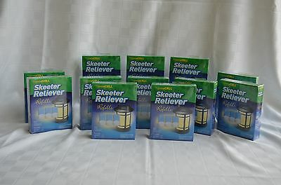 12 boxes ThermaCELL Skeeter Reliever Refills, Repel Mosquitoes Black flies, etc