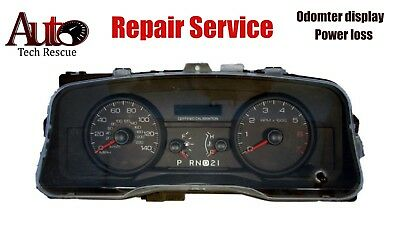 Ford Crown Victoria Police Taxi Instrument Cluster Odometer Repair