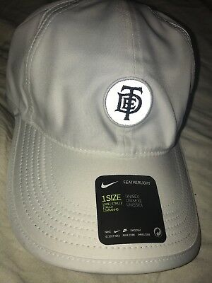 01333ef56e594 TDE X NIKE Kendrick Lamar Championship Tour Pop Up Hat White ...