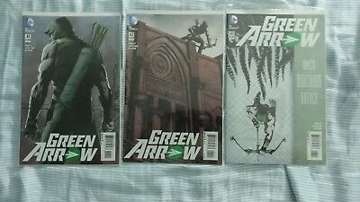 Green Arrow New 52 Comic lot 41-52