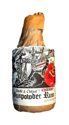 Smoke and Oakum's Cherry Gunpowder Rum 250ml