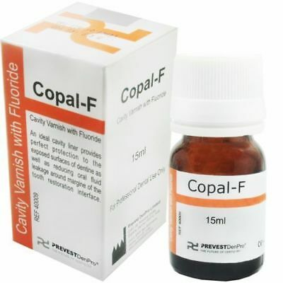 5 x Copal-F Cavity Varnish With Fluoride / FAST SHIPPING :-):-):-):-)