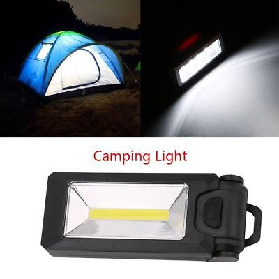 1pc Portable 4*LED+COB Outdoor Camping Lamp Magnetic Hook Flashlights