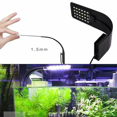 New Flexible LED Aquarium Light Arm Clip on Plant Grow Fish Tank Lighting Lamps