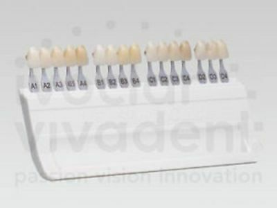IVOCLAR VIVADENT A-D SHADE GUIDE WITH BLEACH SHADES/ Fast shiping Worldwide