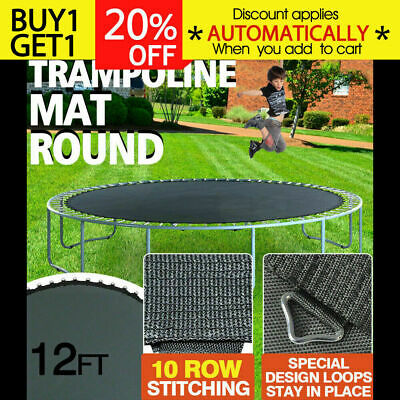 NEW Replacement Trampoline Mat Round Spring Spare 12FT Kids Outdoor Toys Gift AU
