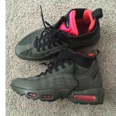outlet store d8f76 acf8e promo code for nike air max 95 sneakerboot green 73da0 82cdd