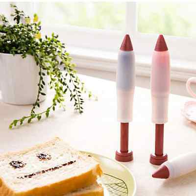 Pastry Icing Cream Chocolate Decorating Silicone Pen Cookie Bakeware Cake Tools