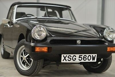 1980 MG Midget 1500 - 14000 miles, family owned from new