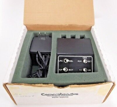 Comprehensive Tcg-1000 Video Supply Corporation Time Code Tek-Mate Ac Adapter