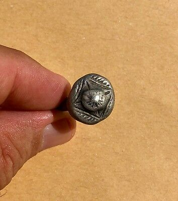Roman Silver Ring, With Decorated Bezel. Nice Item!