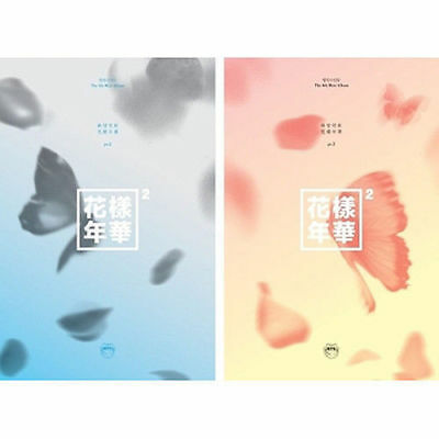 BTS [IN THE MOOD FOR LOVE PT.2] 4th Mini Album 2Ver SET CD+FotoBuch+Karte SEALED
