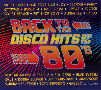 BACK TO THE DISCO HITS OF THE 80'S 2CD DIGIPAK [The Best