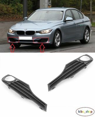 Bmw 3 F30/F31 2012 - 2016 Front Bumper Fog Light Lamp Cover Grilles Left + Right