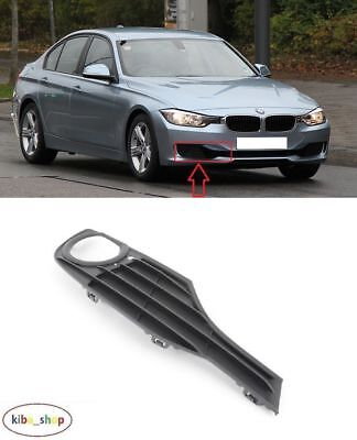 Bmw 3 F30/F31 2012 - 2016 Front Bumper Fog Light Lamp Cover Grille Right O/S