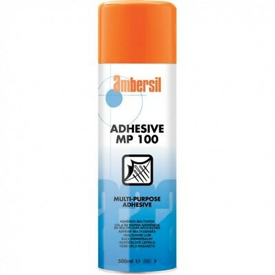 Ambersil MP100 500ml MULTI PURPOSE SPRAY ADHESIVE Aerosol Tin Can 31624