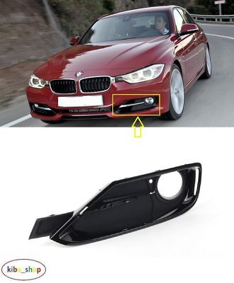 Bmw 3 F30/f31 Sport 2012 - 2016 Front Bumper Fog Light Lamp Grille Left N/s