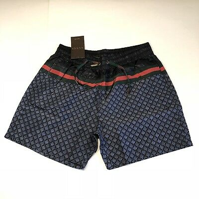 272d10f52a Versace Brand New Men Swim Shorts Size M Color Blue Angry Cat Tiger Snake  Bee