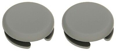 2 Pcs Grey Analog Stick Cap Joystick Cover for Nintendo 2DS 3DS 3DS XL LL