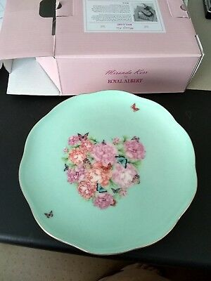 royal albert blessings cake plate new in box
