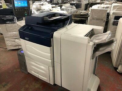Xerox Color C60 Laser Printer With Pro Finisher And External Fiery (323K!)