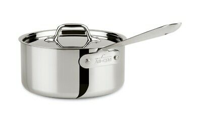 All-Clad 3 QT Stainless Steel Saucepan