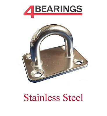 Stainless Steel Square Eye Plate 5Mm - 8Mm **please Choose**