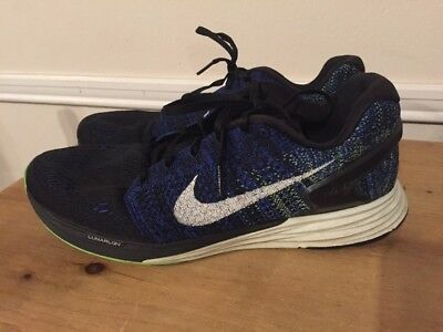 81a7bf87fb3d3 ... best price nike lunarglide 7 mens athletic running shoes size 10.5  black blue 747355 005 eafcb