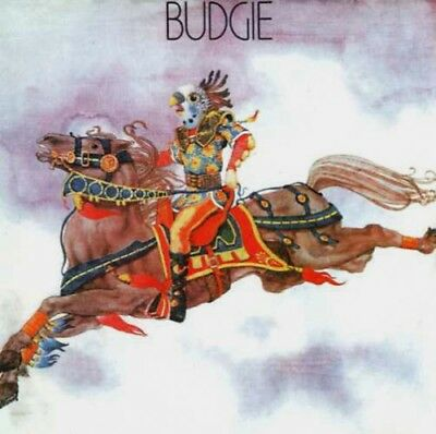 Budgie ‎– Budgie CD [NEW +Booklet]