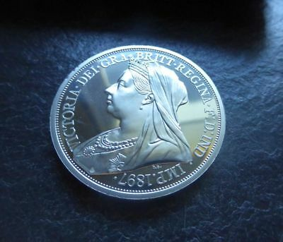 One Crown Great Britain Wales 1897 Queen Victoria
