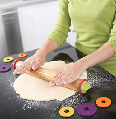 Joseph Joseph Adjustable Rolling Pin - Multi Color