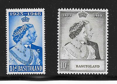 Basutoland Sg 36-37 Silver Wedding C-32