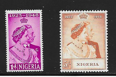 Nigeria Sg 62-63 Silver Wedding -12