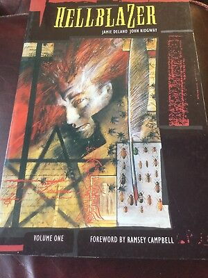 Hellblazer Volume 1 1989 UK Edition First Printing Collectable