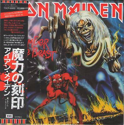 IRON MAIDEN NUMBER OF THE BEAST MINI LP CD OBI[+BOOKLET Bruce Dickinson Rock]