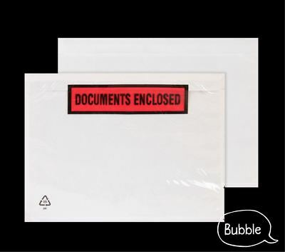 A7 A6 Documents Enclosed Envelopes Adhesive Wallets Plain / Printed High Quality