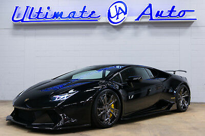 Lamborghini Huracan LP 610-4 Supercharged VF Engineering Supercharger. Vorsteiner Carbon Aero Package. AlphaOne Wheels.