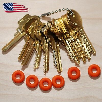 15 Original Offset, Commercial Key Set with Bump Rings USA