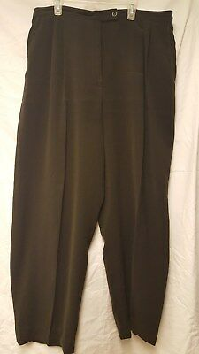 Valerie Womens Dress Pants Size 14 - Olive Green