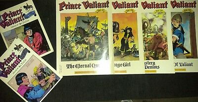 PRINCE VALIANT vol 27,28,29 & 30 Lithway's Law Eternal Quest HAROLD FOSTER ++++
