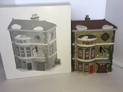 Dept 56 Heritage Village Dickens Series Kings Road Post Office #5801-7