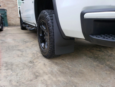 WeatherTech No Drill Mud Flaps For 2014-2018 GMC Sierra New Free Shipping USA