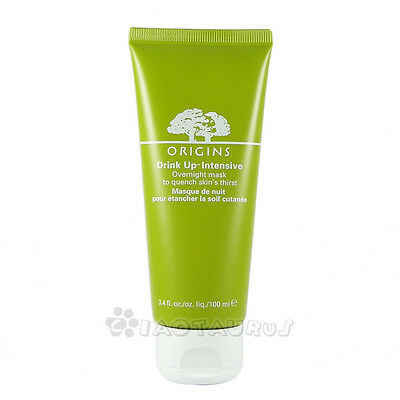 Origins Drink Up Intensive Overnight Mask Quench Skin's Thirst 3.4oz,100ml