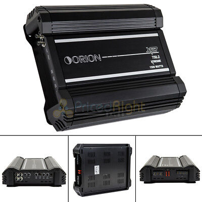 Orion XTR750.2 3000 Watts Max Class A B Stereo 2 Channel Amplifier Car Audio
