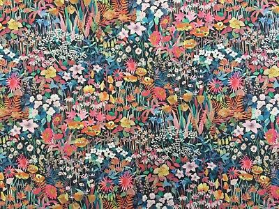 Liberty Tana Lawn - Faria Flowers Small - (B) - 100% Cotton Fabric -